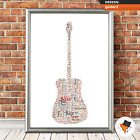 Personalised Christmas Dad Gifts Uncle Grandad Son Him Birthday Guitar Presents
