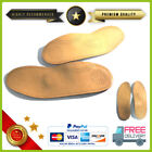 2 Insoles Anatomic From Shoes Man Plantar Leather Gel Size 35 36 37 45 46