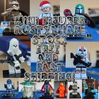 Star Wars Minifigures Fits LEGO, Darth Vader, R2d2 Chewy Storm Trooper Mini figs $7.0 AUD on eBay