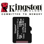 Kingston Micro SD SDHC Memory Card TF Class 10 32GB 64GB 128GB & SD Card Adapter <br/> OFFICIAL UK AUTHORISED KINGSTON RESELLER, 2020 Model