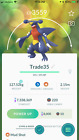 Pokemon Trade Go High Lvl Trades Gible | Garchomp | Haxorus | Hydreigon