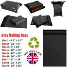 STRONG GREY MAILING BAGS PARCEL POSTAL POSTAGE PLASTIC POST POLY SELF SEAL MAIL