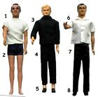 "1965 JAMES BOND MAN UNCLE 12"" gilbert figure -- SHIRT PANTS PISTOL SHOES SOCKS $43.35 CAD on eBay"