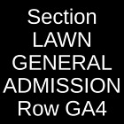 4 Tickets The Doobie Brothers & Michael McDonald 7/27/21 Raleigh, NC