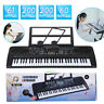 More images of 61 Key Digital Electronic Keyboard Electric LED Adult Child Beginner +Stand +Mic