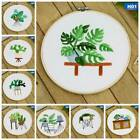 Handmade Embroidery material DIY Art Creative Gift Material Children / Students.