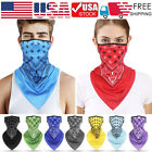 Outdoor Balaclava Head Face Neck Gaiter Fashion Tube Scarf Ear Loops Mouth Wrap