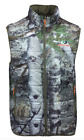 Men Mossy Oak Mountain Country 3M Reversible Insulated Camo Vest Water Resistant