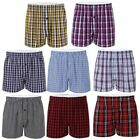Multi Pack Mens Woven Boxer Shorts Check Print Cotton Underwear Trunks S M L 2XL <br/> ✅ Sale ✅ Quality Guaranteed ✅ Fast & Free Shipping ✅