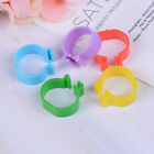 20X Chicken hen pigeon leg poultry bird dove chick duck parrot clip ring band.dr