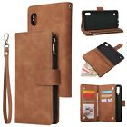 For Samsung A11 A21s A31 A51 A71 A20 A30 Leather Wallet Zipper Phone Case Cover