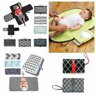 Waterproof Baby Diaper Changing Mat Travel Home Change Pad 3-in-1 Organizer Bag-