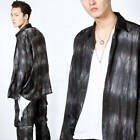 NewStylish Men Tie-dye satin oversized shirts