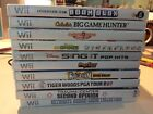 Nintendo WII GAMES, DISKS, MANUAL, CASE.  Tested and Free Shipping