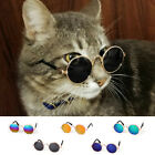 Small Cat Dog Sunglasses Glasses Costume Pet Outfit Clothes Funny Photo Props &