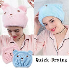 Breathability Hair Towel Quick Drying Wrapped Towel Cap Quickly Dry Hair Hat