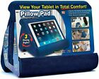 Pillow Pad Multi Angle Cushioned Tablet and iPad Stand Blue Color