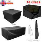 Waterproof Garden Patio Furniture Cover Outdoor Rattan Table Cube Seat Covers Uk