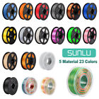 SUNLU 3D Printer Filament ABS PLA PETG PLA+ SILK 1.75mm 1KG/2.2lb Spool Printing