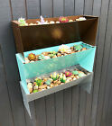 Stackable Stacking Planter Wall Mounted Tiered 3-Tier Free-Standing Home Garden
