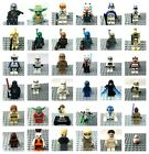 LEGO Star Wars Minifigures Genuine Clone Troopers or Stormtroopers or Jedis