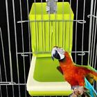Bird Feeder Automatic Parrot Feeder Cage Accessories Pigeon Seed Food Container