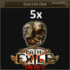 Path of Exile (POE) — Heist 1, 10, 100 X Exalted orb Softcore (NA, EU, UK) +GIFT