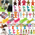 Pets Funny Soft Puppy Chew Play Squeaker Squeaky Plush Sound Dog Rope Teeth Toys