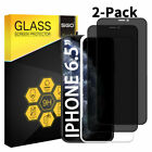 [2-Pack] iPhone 11 Pro X Xs Max Privacy Anti-Spy Tempered Glass Screen Protector