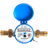 More images of Diamond Water meter flow House and Garden 1.5m3 / h with 1 / 2 non return brass
