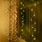 USB LED Curtain Fairy String Lights Window Wedding Decor Christmas xmas gift UK