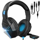 Mpow EG10 Gaming Headset Mic Headphones 3D Surround Sound For PC Xbox One PS4 3