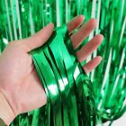 2.4M Metallic Tinsel Shimmer Foil Door Curtain Wedding Birthday Party Decoration