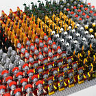 21 pcs Medieval Knights Crusader Army Rome Commander Gladiatus Soldiers lego MOC