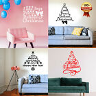 Christmas Tree Wall Window Stickers Home Decor Supplies Xmas Ornament New Year