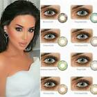 Color Contacts Lenses NEW! Yearly For Dark eyes case cases Lens sa