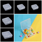 Transparent Storage Box Jewelry Beads Container Packing Boxes Small Items Case