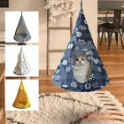 Removable Pet Hanging Hammock Bed House ConicalWashable Cat Tent Small Dog Nest