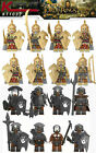 8 minifigures Orcs, Uruk Hai, Lord of the Rings, LEGO compatible
