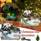 Animated Music Xmas Present LED Light Christmas Glow Village New Luminous C4A1