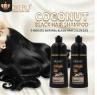 Mokeru Natural 3 Colors Permanent Hair Color Shampoo Long Lasting Hair Dye