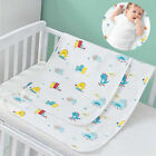 Baby Waterproof Cotton Changing Pad Diaper Leak-Proof Bedding Cover Urine Mat