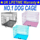 2020 DOG CAGE PUPPY TRAINING CRATE PET CARRIER - SMALL MEDIUM LARGE XL XXL CAGES