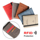 Holder Ultra-thin RFID Wallet Passport Holder Travel Cover Case Passport Bag