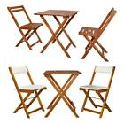 Folding Bistro Set Outdoor Garden Patio Bar Dining Table And Chair Furniture Set