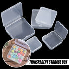 Jewelry Beads Container Small Items Case Transparent Storage Box Packing Boxes