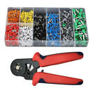 1200Pcs Terminal Wire Connectors Assorted Electrical Set Insulated Crimp Kit