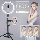 10' LED Ring Light w/Stand & Mount Kit for Camera Phone Selfie Video Live Stream