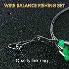 Stainless Steel Trace Wire Leader Fishing Line Leaders & Snap D8f3 New U8v8