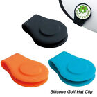 2 Pcs Silicone Golf Hat Clip Ball Marker Holder with Strong Magnetic Attach,